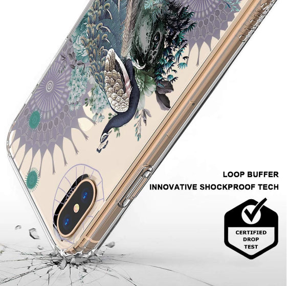 Peacock Phone Case - iPhone Xs Max Case