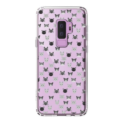 Cats Head Phone Case - Samsung Galaxy S9 Plus Case