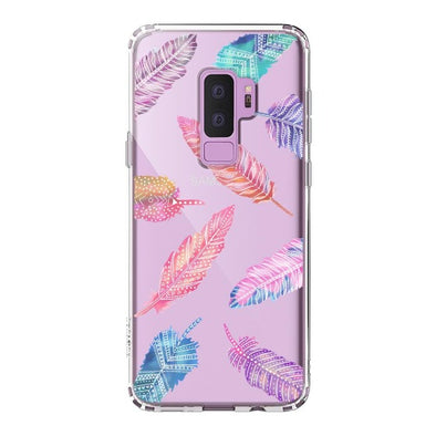 Tribal Feathers Phone Case - Samsung Galaxy S9 Plus Case