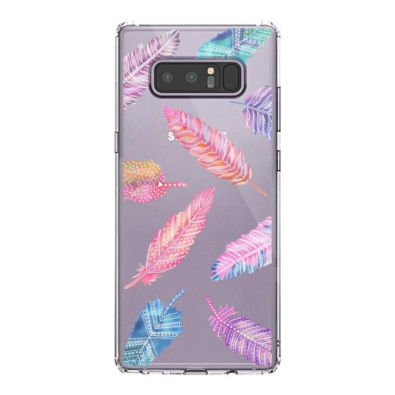 Tribal Feathers Phone Case - Samsung Galaxy Note 8 Case