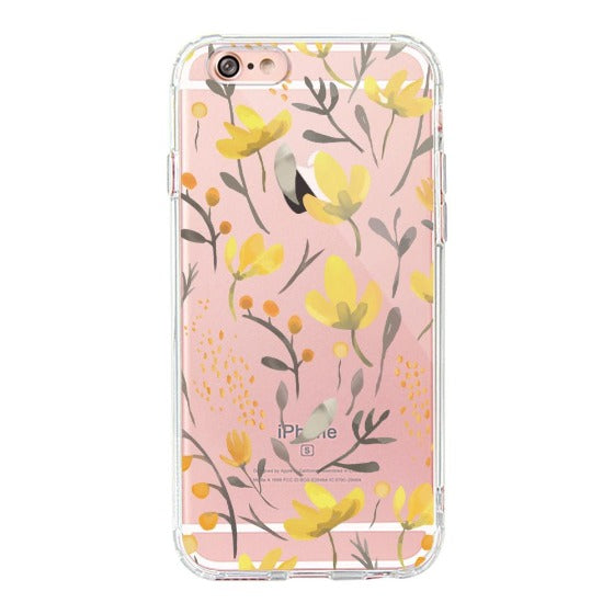 Floral Flower Phone Case - iPhone 6/6S Case