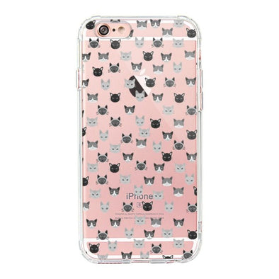 Cats Head Phone Case - iPhone 6/6S Case
