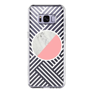 Pink White Marble Phone Case - Samsung Galaxy S8 Case