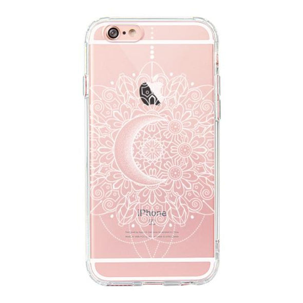 Moon Henna Phone Case - iPhone 6/6S Case