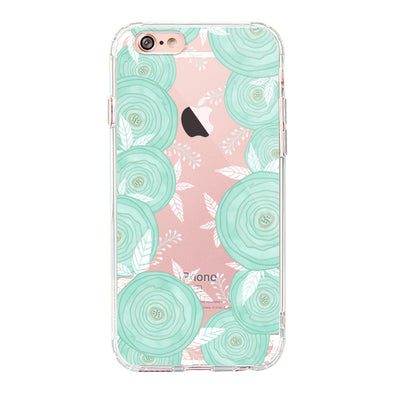 Mint Roses Phone Case - iPhone 6/6S Case