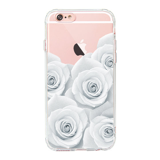 White Roses Phone Case - iPhone 6/6S Case