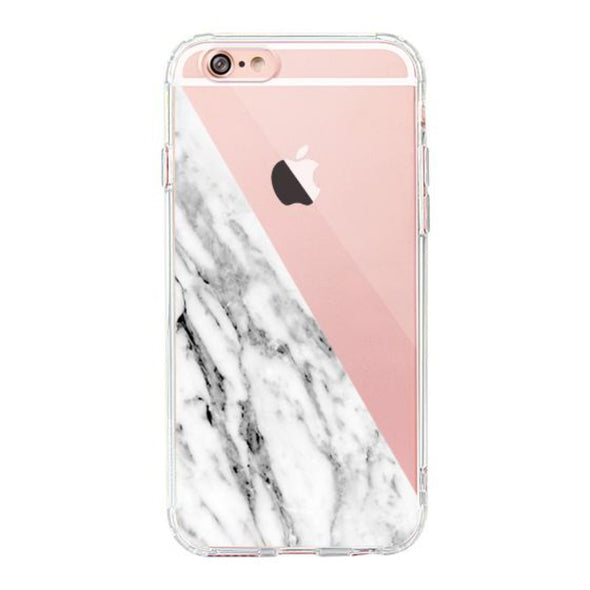 Fashion White Marble Phone Case - iPhone 6/6S Case