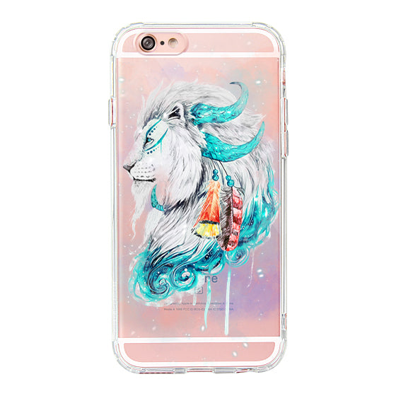Lion Flames Phone Case - iPhone 6/6S Case