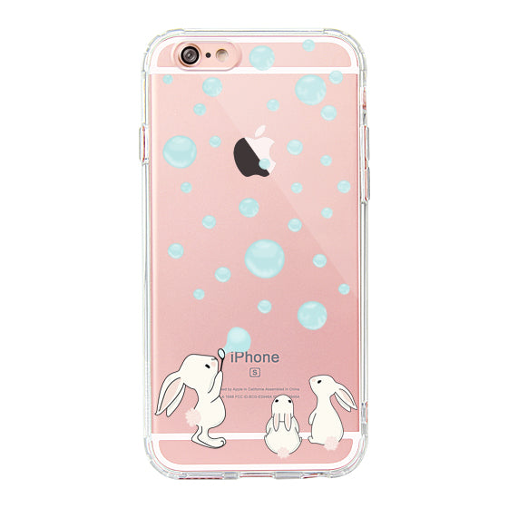 Cute Bunny Phone Case - iPhone 6/6S Case