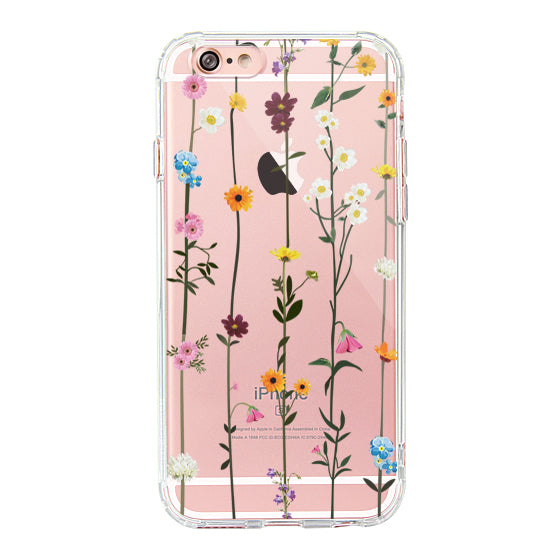 Wild Flowers Floral Phone Case - iPhone 6/6S Case
