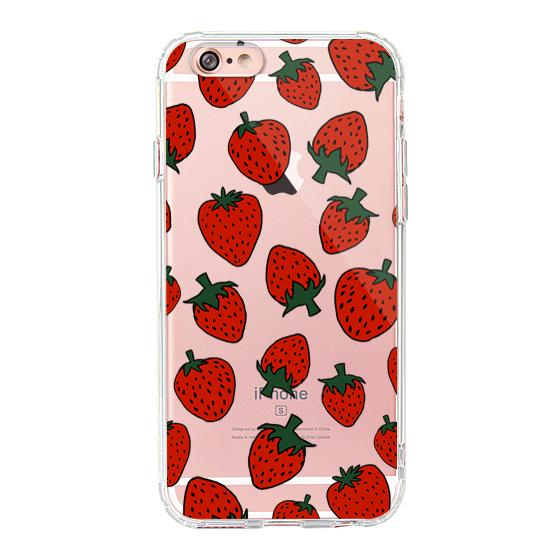 Red Strawberry - iPhone 6 Plus/6S Plus Case
