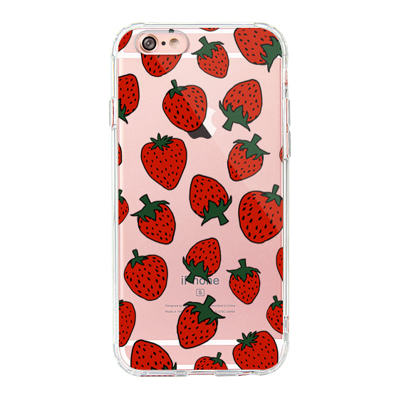 Red Strawberry - iPhone 6/6S  Case