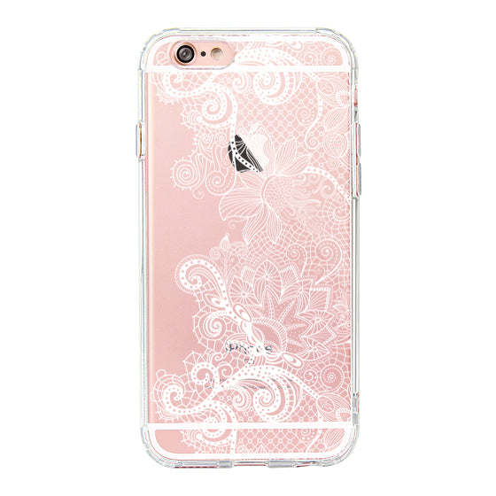 Floral Lace Phone Case - iPhone 6 Plus/6S Plus Case