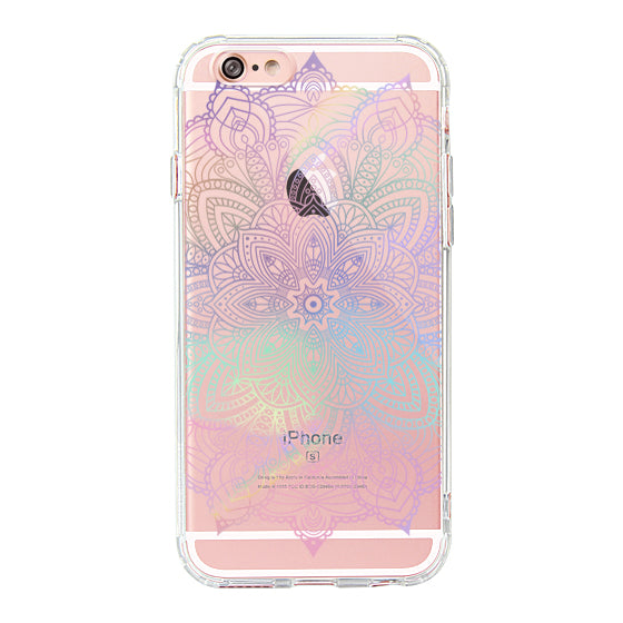 Rainbow Henna Mandala Phone Case - iPhone 6 Plus/6S Plus Case