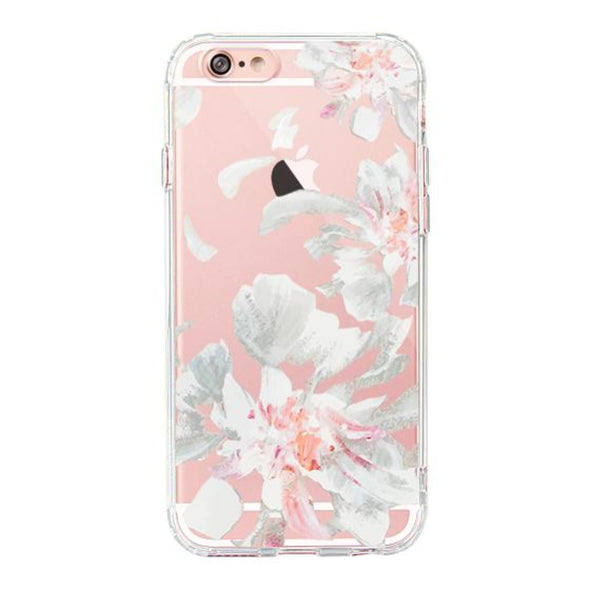 White Petal Phone Case - iPhone 6 Plus/6S Plus Case