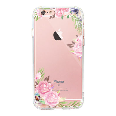 Feathers and Roses Phone Case - iPhone 6 Plus/6S Plus Case