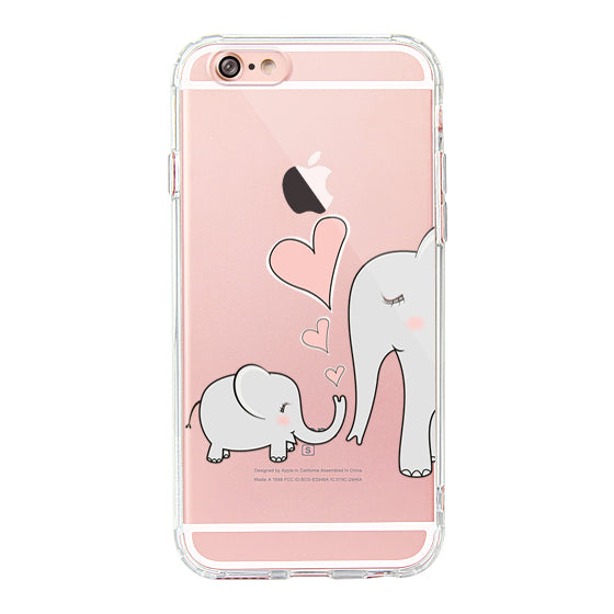 Cute Elephant Phone Case - iPhone 6 Plus/6S Plus Case