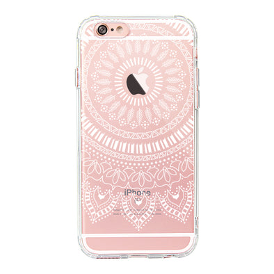 White Mandala Phone Case - iPhone 6 Plus/6S Plus Case
