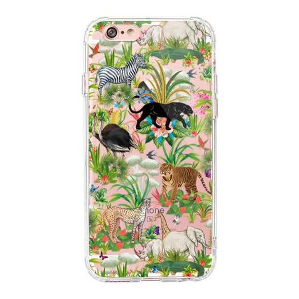 Wild Animals Phone Case - iPhone 6 Plus/6S Plus Case