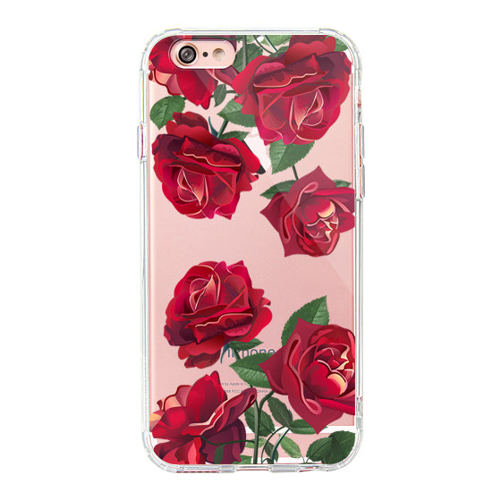 Red Rose Blossom Flower Floral Phone Case - iPhone 6 Plus/6S Plus Case