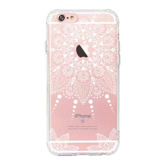 White Henna Garden Phone Case - iPhone 6 Plus/6S Plus Case