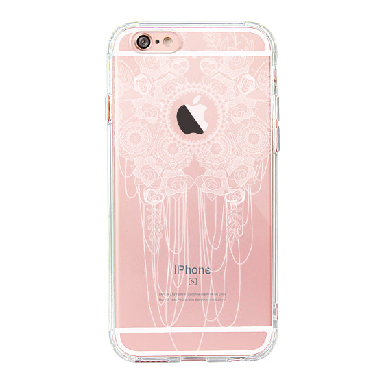 Lace Rose Phone Case - iPhone 6 Plus/6S Plus Case