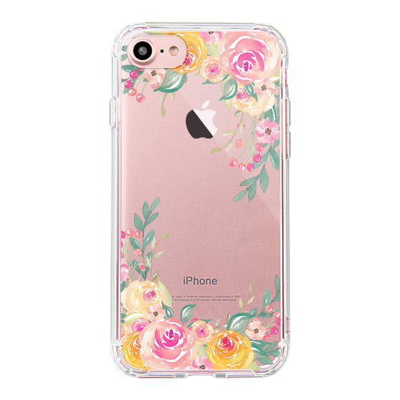 Pink Rose Flower Phone Case - iPhone 7 Case