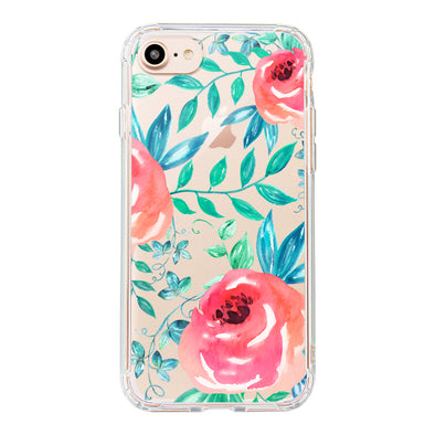 Roses Leaf Phone Case - iPhone 8 Case