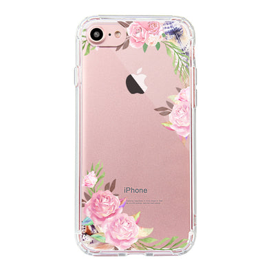 Feathers and Roses Phone Case - iPhone 7 Case