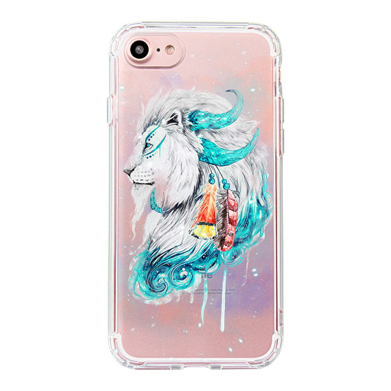 Lion Flames Phone Case - iPhone 7 Case