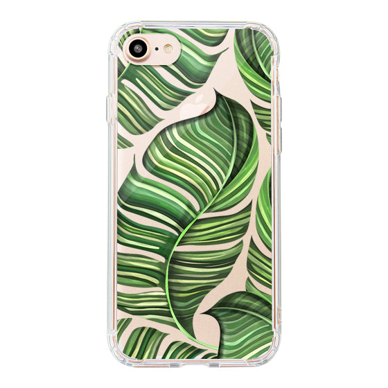 Banana Leaves Phone Case - iPhone 8 Case