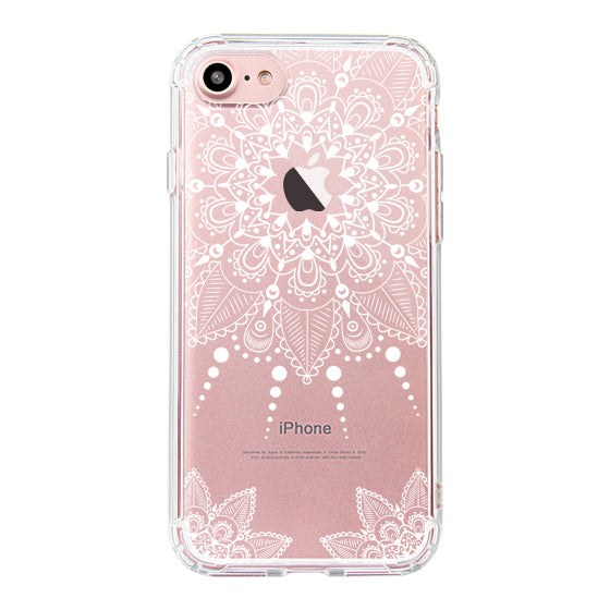 White Henna Garden Phone Case - iPhone 7 Case