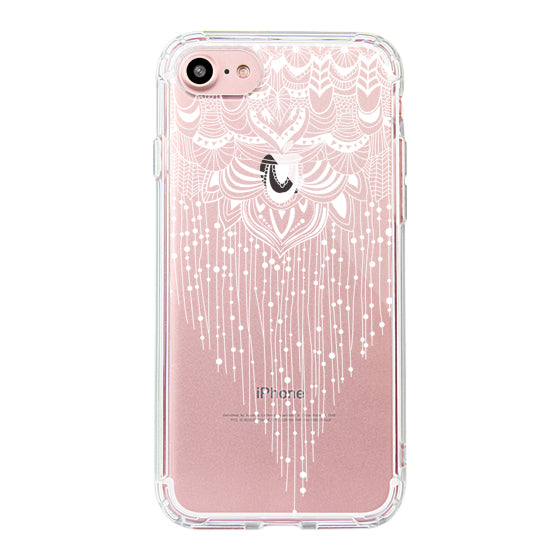 Floral Tassel Phone Case - iPhone 7 Case