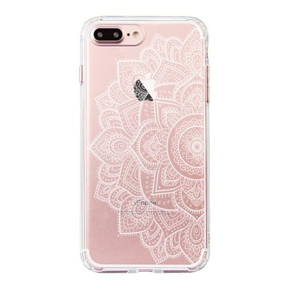Half Mandala Phone Case - iPhone 7 Plus Case