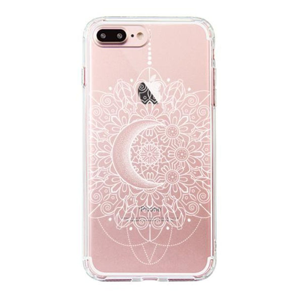 Moon Henna Phone Case - iPhone 7 Plus Case