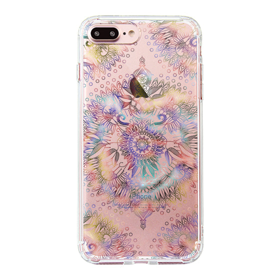 Ombre Mandala Phone Case - iPhone 7 Plus Case