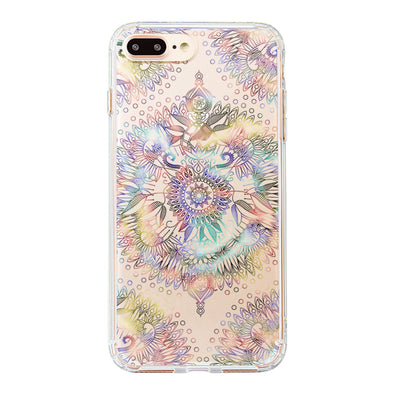 Ombre Mandala Phone Case - iPhone 8 Plus Case