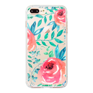 Roses Leaf Phone Case - iPhone 8 Plus Case