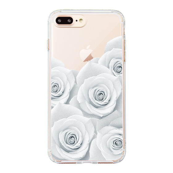 White Roses Phone Case - iPhone 8 Plus Case