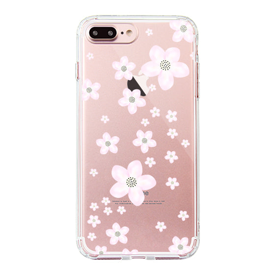 Pink Cherry Blossoms Phone Case - iPhone 7 Plus Case