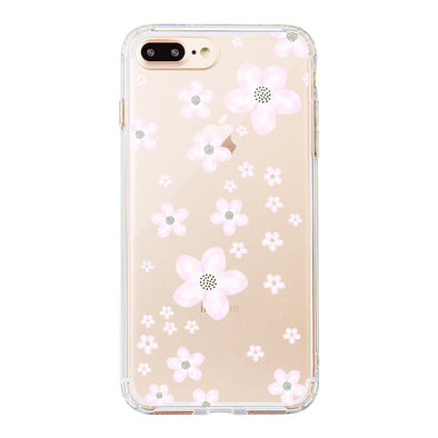 Pink Cherry Blossoms Phone Case - iPhone 8 Plus Case