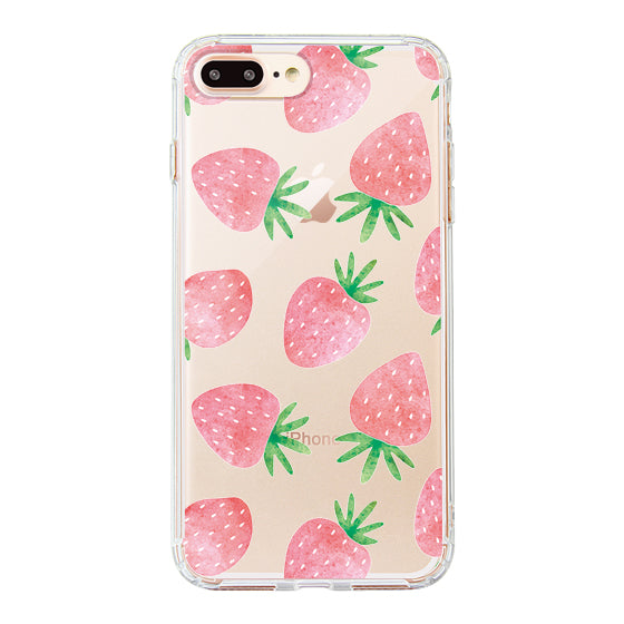 Strawberry Phone Case - iPhone 8 Plus Case