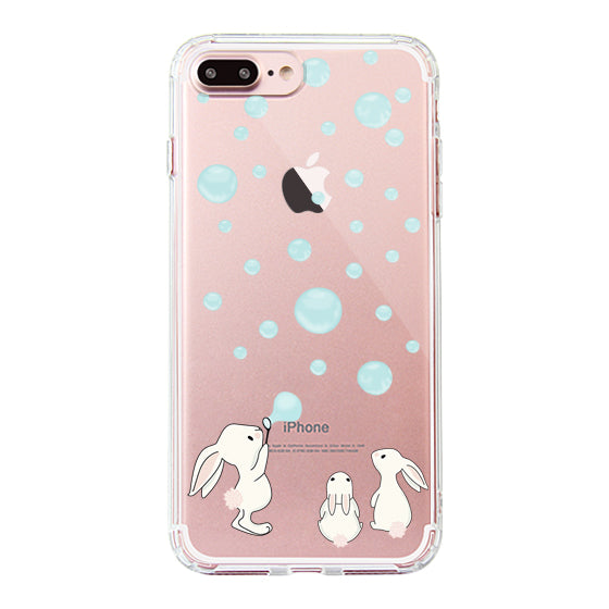 Cute Bunny Phone Case- iPhone 7 Plus Case