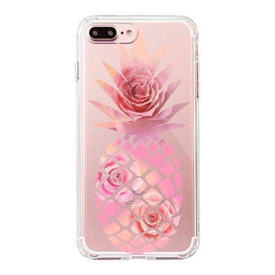 Pineapple Rose Phone Case - iPhone 7 Plus Case