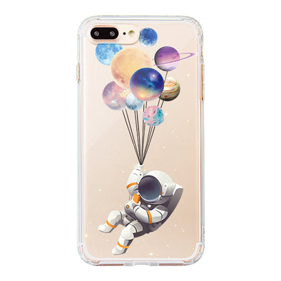 Astronaut Planet Phone Case - iPhone 8 Plus Case