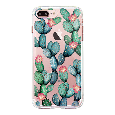 Tropical Cactus Phone Case - iPhone 7 Plus Case