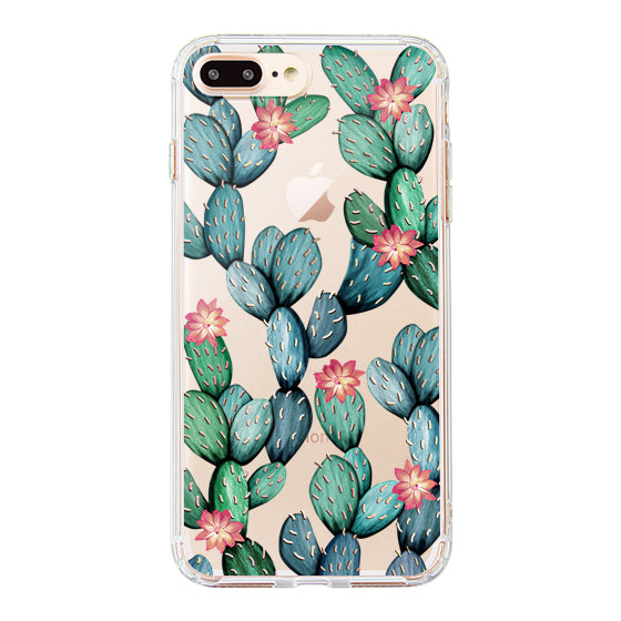 Tropical Cactus Phone Case - iPhone 8 Plus Case