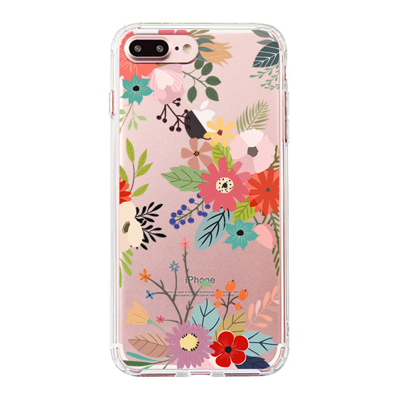 Water Color Flower Floral Phone Case - iPhone 7 Plus Case