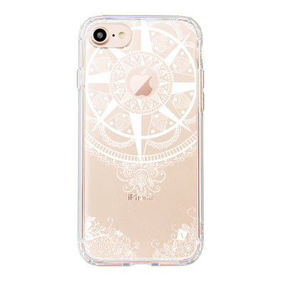 Mandala Floral Phone Case - iPhone 8 Case