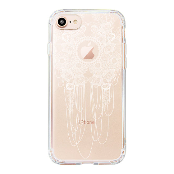 Lace Rose Phone Case - iPhone 8 Case